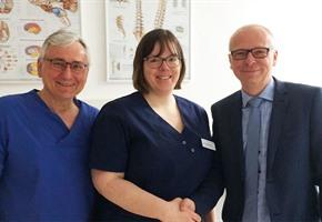 Verstärkt: MVZ Bad Laer jetzt mit Neurochirurgin