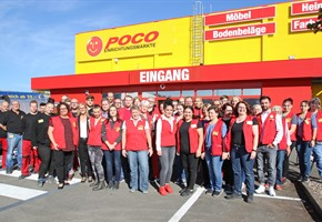 Start frei: Poco eröffnet an der Hannoverschen Straße