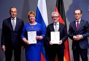 Dickes Lob: Außenminister zeichnen Städtebotschafterprojekt aus