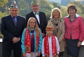 Stadtprinzenpaar gekürt: Frank I. und Marie I. regieren das Narrenvolk
