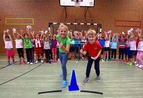 ''Kindersprint'': OS-Grundschüler flott unterwegs