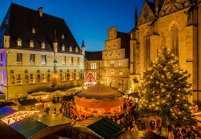 Historischer Weihnachtsmarkt öffnet seine Pforten