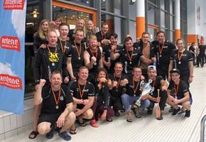 ''Sporting Dragons'' gewinnen Drachenboot-Cup
