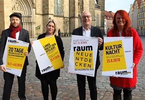 Stadt fördert Kulturprojekte zum Thema ''Raum''