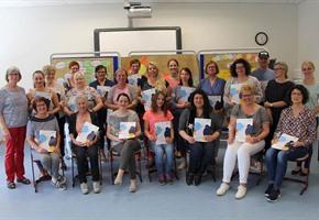 Fortbildung abgeschlossen: 18 neue Alten-Betreuer