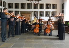 Neue Hofkapelle mit Kompositionen der Bach-Familie im Schloss