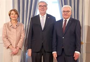 Einladung zum Neujahrsempfang: Bundespräsident würdigt Hardinghaus