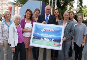 Handwerker Cup: 5.000 Euro für Flüchtlingshilfe