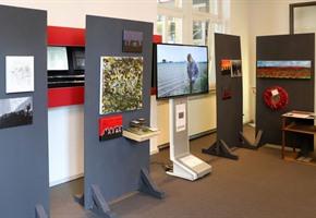 Schüler kreieren Ausstellung zum Ersten Weltkrieg