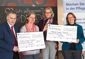 Hochschule: Unterstützung für Madame Courage