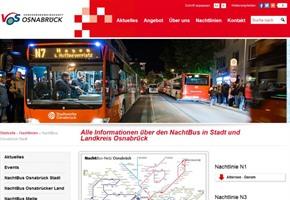 VOS-Winterfahrplan: Nachtbusse fahren zweimal um zwei