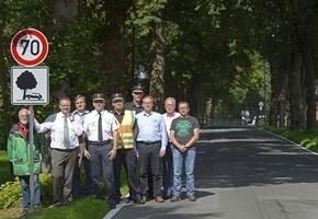 Fuß vom Gas: Aktion gegen Baumunfälle