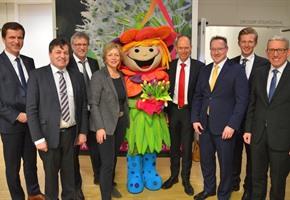 Neujahrsempfang: Landrat stellt Landkreis-Agenda vor
