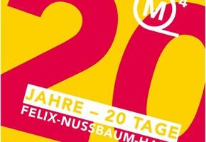 Nussbaum-Haus: 20. Geburtstag wird 20 Tage lang gefeiert