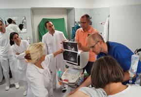 Auch Ärzte und Pfleger müssen üben: Spezial-Training