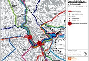 ÖPNV-Neuorganisation am Neumarkt: 4 Linienführungen sind möglich