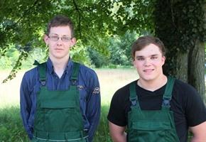 Zwei neue Azubis: Forstleute in Ankum ''spitze''