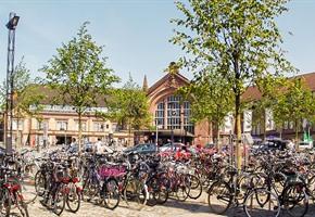Fahrrad-Abstellanlagen werden geräumt