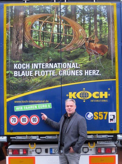 Koch international setzt auf 39 39 gr ne logistik for Koch international