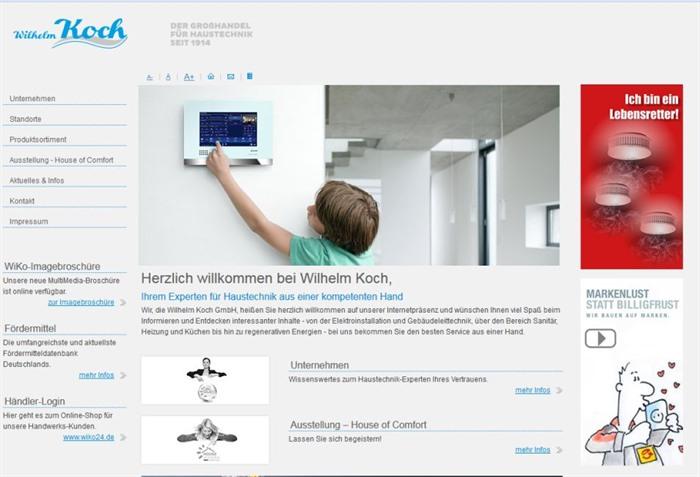 Wilhelm koch nach holding auch gmbh insolvent for Koch haustechnik