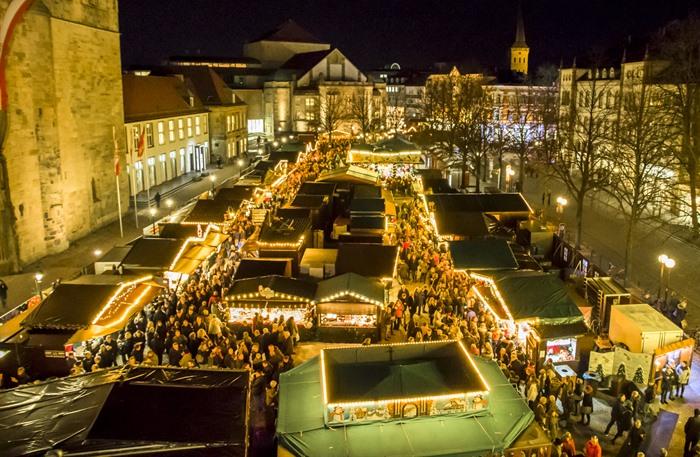 Weihnachtsmarkt Osnabrück.Historischer Weihnachtsmarkt Osnabrück Veranstaltungen