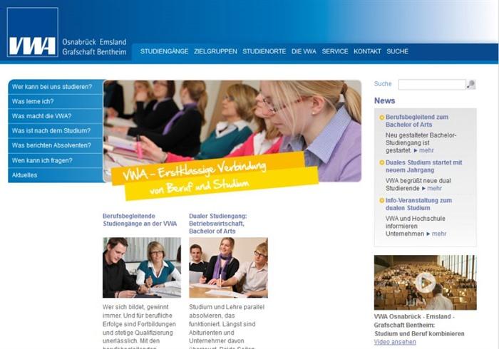 Vwa Neuer Kooperationsstudiengang Gestartet Beruf Bildung