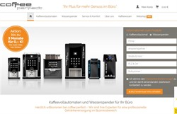 Coffee Perfect expandiert jetzt nach Dänemark. © Screenshot Webseite Coffee Perfect